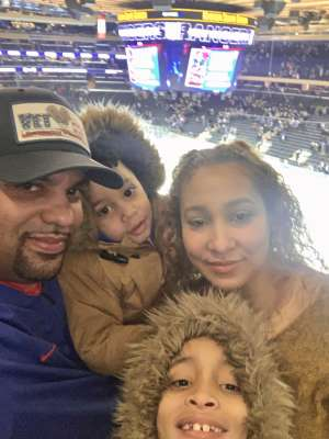 Edward attended New York Rangers vs. Buffalo Sabres - NHL on Feb 7th 2020 via VetTix