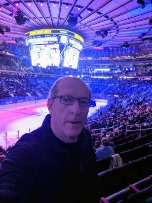 Eliot attended New York Rangers vs. Buffalo Sabres - NHL on Feb 7th 2020 via VetTix