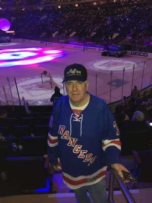Paul Lang attended New York Rangers vs. Buffalo Sabres - NHL on Feb 7th 2020 via VetTix