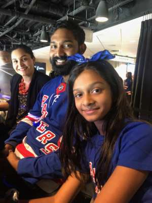 Aaron attended New York Rangers vs. Buffalo Sabres - NHL on Feb 7th 2020 via VetTix
