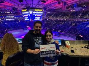 James attended New York Rangers vs. Buffalo Sabres - NHL on Feb 7th 2020 via VetTix