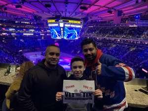 Z attended New York Rangers vs. Buffalo Sabres - NHL on Feb 7th 2020 via VetTix