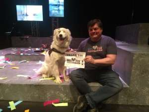 James Murray attended Ordinary Days on Mar 8th 2020 via VetTix