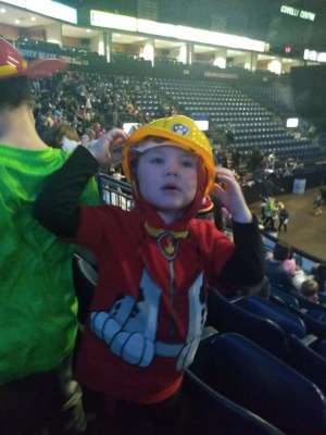 Damaskos attended Paw Patrol Live: Race to the Rescue on Feb 19th 2020 via VetTix