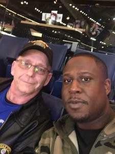 Anderson attended Buffalo Sabres vs. Columbus Blue Jackets - NHL on Feb 13th 2020 via VetTix