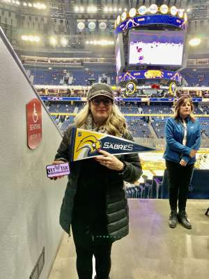 Darleen attended Buffalo Sabres vs. Columbus Blue Jackets - NHL on Feb 13th 2020 via VetTix