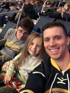 Christopher attended Buffalo Sabres vs. Columbus Blue Jackets - NHL on Feb 13th 2020 via VetTix