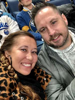 T attended Buffalo Sabres vs. Columbus Blue Jackets - NHL on Feb 13th 2020 via VetTix