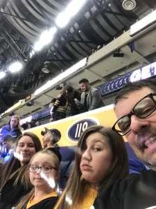 mike attended Buffalo Sabres vs. Columbus Blue Jackets - NHL on Feb 13th 2020 via VetTix