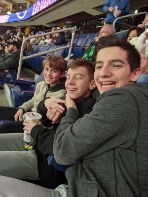 Martin attended Buffalo Sabres vs. Columbus Blue Jackets - NHL on Feb 13th 2020 via VetTix