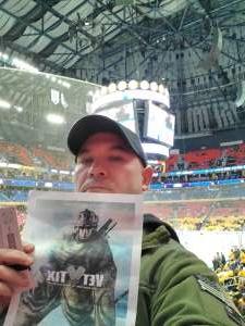 Casey attended Buffalo Sabres vs. Columbus Blue Jackets - NHL on Feb 13th 2020 via VetTix