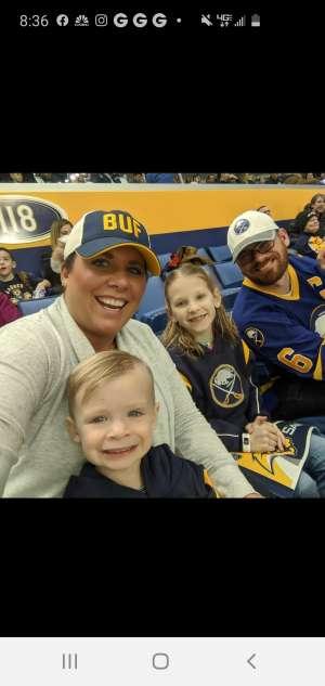 jeremy attended Buffalo Sabres vs. Columbus Blue Jackets - NHL on Feb 13th 2020 via VetTix