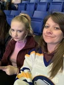 Lacy attended Buffalo Sabres vs. Columbus Blue Jackets - NHL on Feb 13th 2020 via VetTix