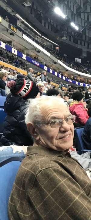 Philip attended Buffalo Sabres vs. Columbus Blue Jackets - NHL on Feb 13th 2020 via VetTix