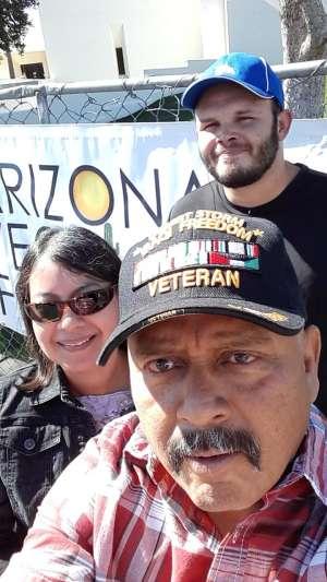 Richard attended Angry Crab Shack Southwest Cajun Fest on Feb 15th 2020 via VetTix