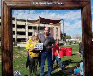 David Merriman attended Chili Bourbon & Beer Festival on Feb 29th 2020 via VetTix