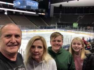 Gerald attended Jacksonville Icemen vs. Newfoundland Growlers - ECHL on Mar 1st 2020 via VetTix