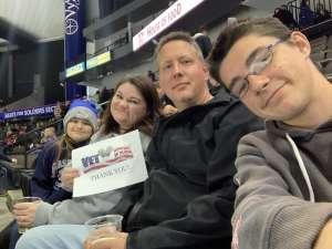 James attended Jacksonville Icemen vs. Newfoundland Growlers - ECHL on Mar 1st 2020 via VetTix