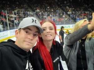 Matthew attended Jacksonville Icemen vs. Newfoundland Growlers - ECHL on Mar 1st 2020 via VetTix
