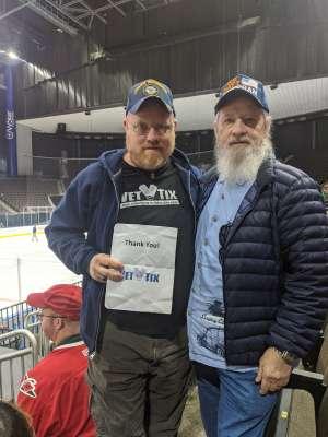 Adam attended Jacksonville Icemen vs. Newfoundland Growlers - ECHL on Mar 1st 2020 via VetTix