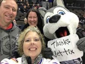 Joe Perry  attended Jacksonville Icemen vs. Newfoundland Growlers - ECHL on Mar 1st 2020 via VetTix