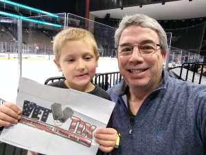 Cliff attended Jacksonville Icemen vs. Newfoundland Growlers - ECHL on Mar 1st 2020 via VetTix
