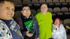 WBH attended Jacksonville Icemen vs. Newfoundland Growlers - ECHL on Mar 1st 2020 via VetTix