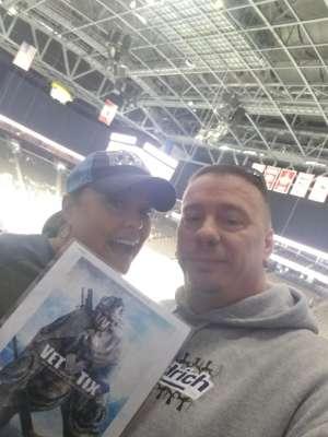 Julie attended Jacksonville Icemen vs. Newfoundland Growlers - ECHL on Mar 1st 2020 via VetTix