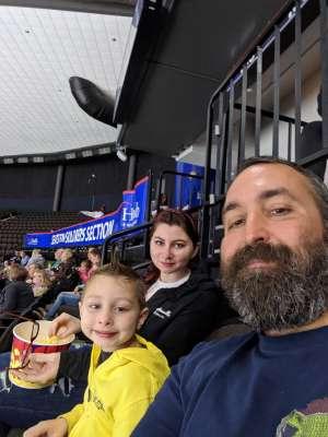 Chris attended Jacksonville Icemen vs. Newfoundland Growlers - ECHL on Mar 1st 2020 via VetTix