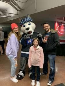 Eddie attended Jacksonville Icemen vs. Norfolk Admirals - ECHL on Feb 28th 2020 via VetTix