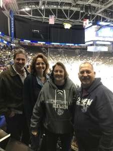 Donald  attended Jacksonville Icemen vs. Norfolk Admirals - ECHL on Feb 28th 2020 via VetTix