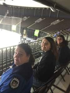 Partin  attended Jacksonville Icemen vs. Norfolk Admirals - ECHL on Feb 28th 2020 via VetTix