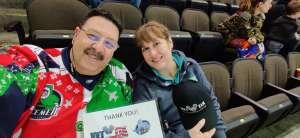 George attended Jacksonville Icemen vs. Norfolk Admirals - ECHL on Feb 28th 2020 via VetTix
