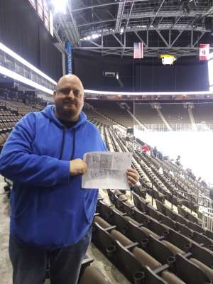 Josh attended Jacksonville Icemen vs. Norfolk Admirals - ECHL on Feb 28th 2020 via VetTix