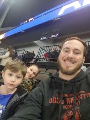 Cody attended Jacksonville Icemen vs. Norfolk Admirals - ECHL on Feb 28th 2020 via VetTix