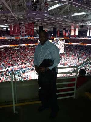 Johnson attended NC State vs. Duke - NCAA Men's Basketball on Feb 19th 2020 via VetTix