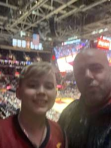 Niola attended Cleveland Cavaliers vs. Philadelphia 76ers - NBA on Feb 26th 2020 via VetTix
