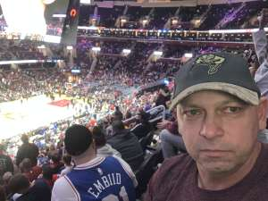 Allen  attended Cleveland Cavaliers vs. Philadelphia 76ers - NBA on Feb 26th 2020 via VetTix