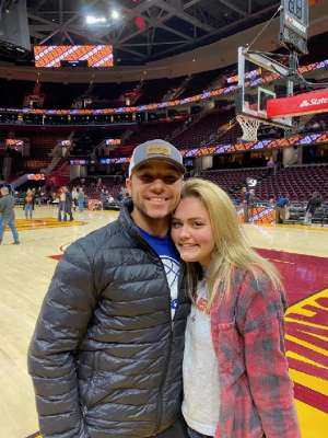 Scott attended Cleveland Cavaliers vs. Philadelphia 76ers - NBA on Feb 26th 2020 via VetTix