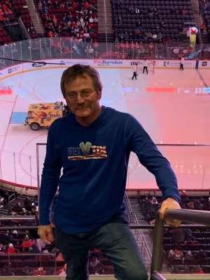 Kenneth attended New Jersey Devils vs. San Jose Sharks on Feb 20th 2020 via VetTix