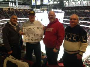 douglas attended New Jersey Devils vs. San Jose Sharks on Feb 20th 2020 via VetTix