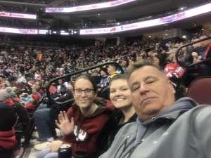 JB  attended New Jersey Devils vs. San Jose Sharks on Feb 20th 2020 via VetTix