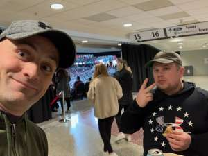 Nick attended New Jersey Devils vs. San Jose Sharks on Feb 20th 2020 via VetTix