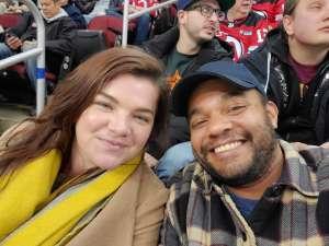 JOSE attended New Jersey Devils vs. San Jose Sharks on Feb 20th 2020 via VetTix