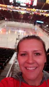 Crystal attended New Jersey Devils vs. San Jose Sharks on Feb 20th 2020 via VetTix