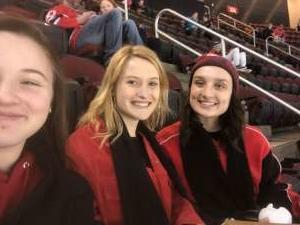 Ani  attended New Jersey Devils vs. San Jose Sharks on Feb 20th 2020 via VetTix