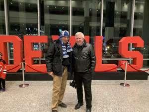 BRIAN attended New Jersey Devils vs. San Jose Sharks on Feb 20th 2020 via VetTix