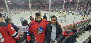 Bruce attended New Jersey Devils vs. San Jose Sharks on Feb 20th 2020 via VetTix