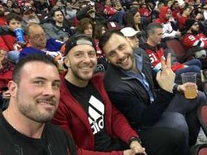 Jonathan attended New Jersey Devils vs. San Jose Sharks on Feb 20th 2020 via VetTix