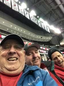 Jack attended New Jersey Devils vs. San Jose Sharks on Feb 20th 2020 via VetTix